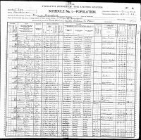 ALLEN, George and Family - 1900 US Federal Census