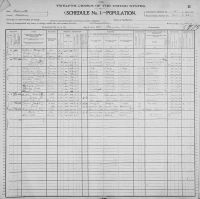 KIRKLAND, William and Family - 1900 US Federal Census Ward 4, Somerville, Middlesex, Massachusetts, USA (Page 28 of 28)