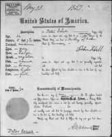 SCHELL, Peter Charles and family