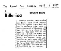 SCHULER, Norman - Keyes Road Paving