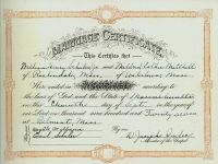 SCHULER, William and Mildred - Marriage Certificate, 11 Sep 1927