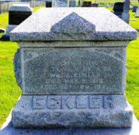 ECKLER, William - HEADSTONE