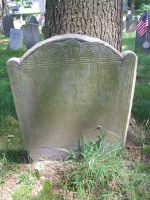 HALL, Sarah (Marsh) - Headstone - 1704-1765