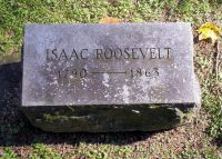 ROOSEVELT, Isaac - Gravestone