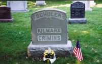 SCHULER KILMARX, CRIMINS Grave Stone