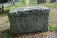 SCHULER, William H and Mildred (Mitchell) Grave