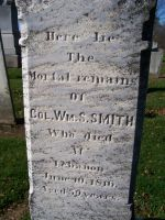 SMITH, William Stephens - HEADSTONE