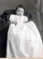SCHULER, Mildred (Mitchell) Baby Photograph, 1907
