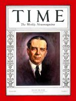 YOUNG, Owen D. - Time Man of the Year 1925