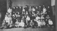 SCHULER, William Jr - Second Grade Class Photo - 1912